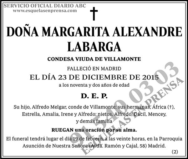 Margarita Alexandre Labarga